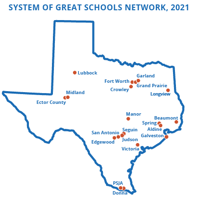 System of Great Schools districts in 2021