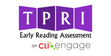 TPRI on Children's Learning Institute Engage logo